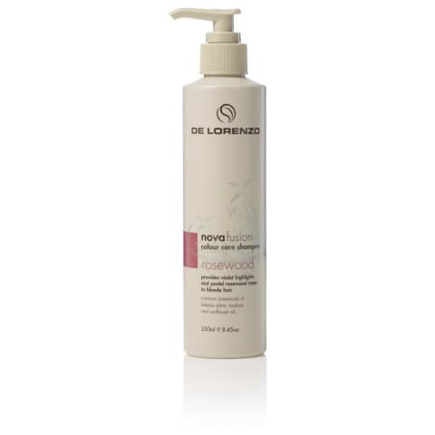 De Lorenzo Novafusion Colour Care Shampoo Rosewood