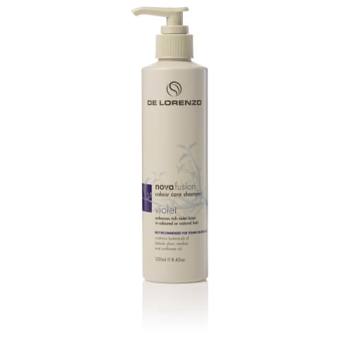 De Lorenzo Novafusion Colour Care Shampoo Violet