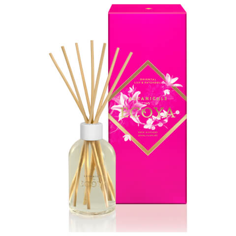 ECOYA Botanicals Reed Diffuser - Oriental Lily & Patchouli 200ml