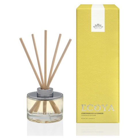 ECOYA Lemongrass & Ginger Mini Reed Diffuser 50ml