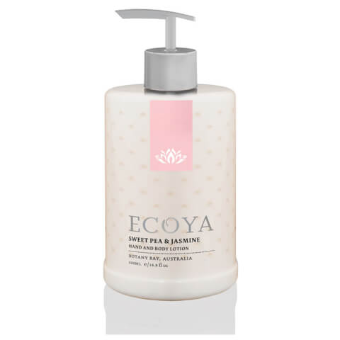 ECOYA Sweet Pea & Jasmine Hand & Body Lotion 500ml
