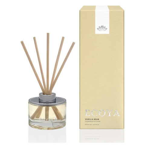 ECOYA Vanilla Bean Mini Reed Diffuser 50ml