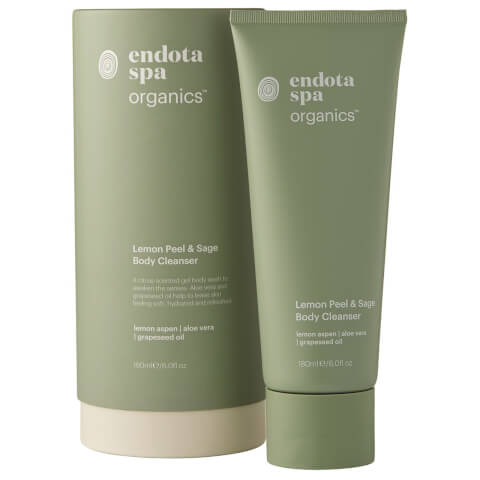 Endota Spa Organics Lemon Peel And Sage Body Cleanser 180ml