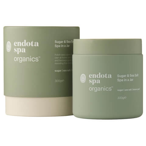 Endota Spa Organics Sugar And Sea Salt Spa In A Jar
