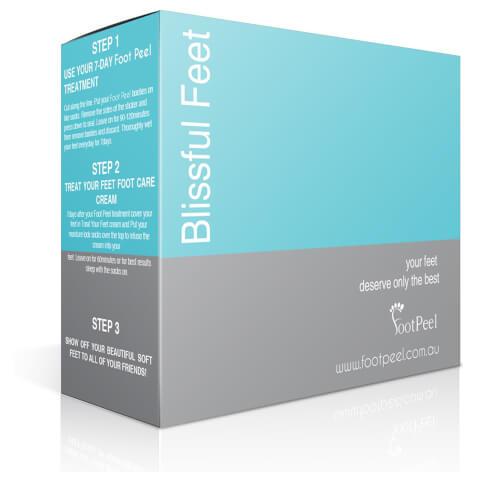 Footpeel Blissful Feet Foot Peel Treatment Kit