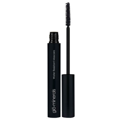 glo minerals Water Resistant Black Mascara