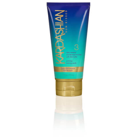 Kardashian Glow Sun Kissed Tan Extender With Bronzers 177ml - Step 3