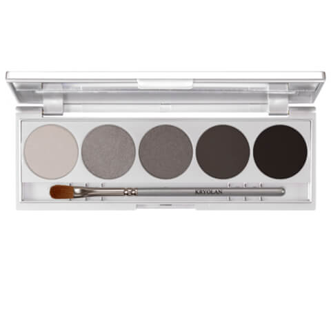 Kryolan Professional Make-Up Shades Eye Shadow Palette - Berlin 7.5g