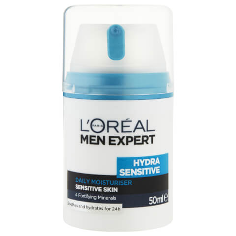 L'Oréal Paris Men Expert Hydra Sensitive Daily Moisturiser 50ml