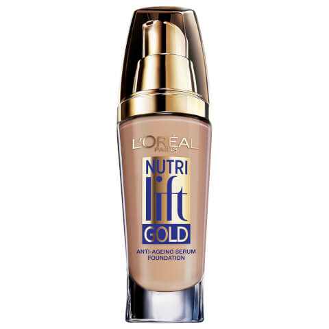 L'Oréal Paris Nutri Lift Gold Foundation #180 Golden Beige 25ml