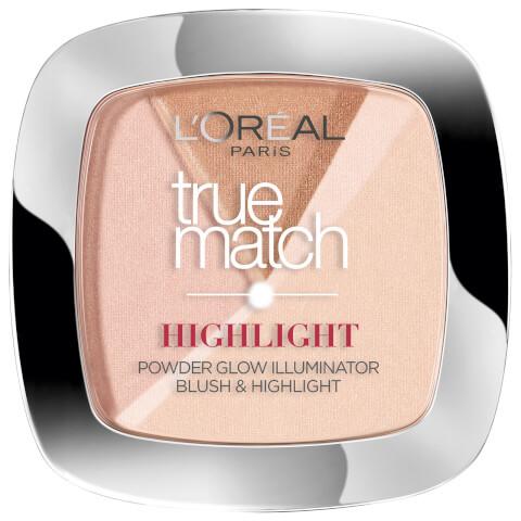 L'Oréal Paris True Match Highlight Powder Glow Illuminator #102D/W Dore Golden Glow 9g