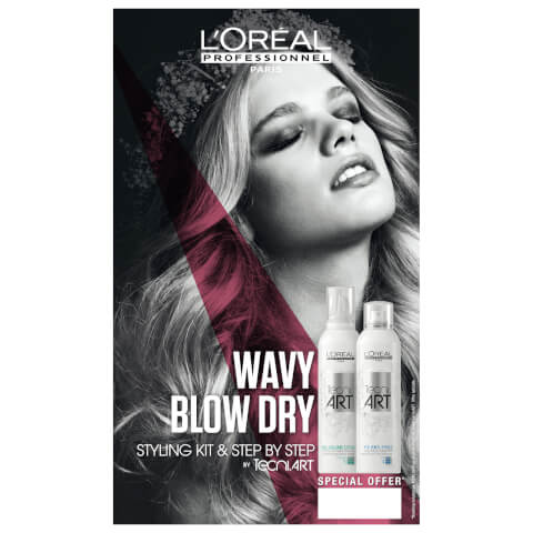 L'Oréal Professionnel Tecni Art Wavy And Blow Dry Styling Duo Kit
