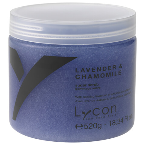 Lycon Oil Free Sugar Scrub - Lavender And Chamomile 520g