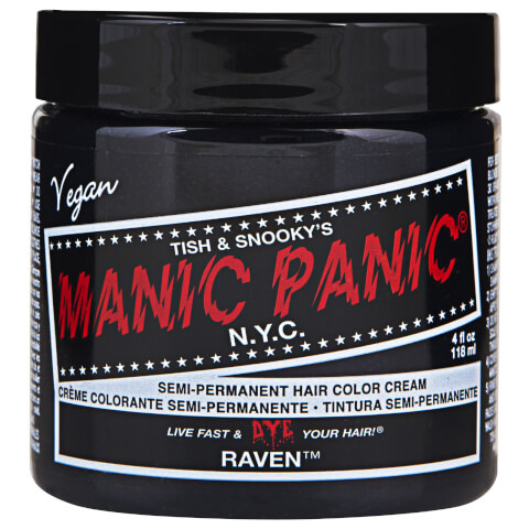 Manic Panic Semi-Permanent Hair Color Cream - Raven 118ml