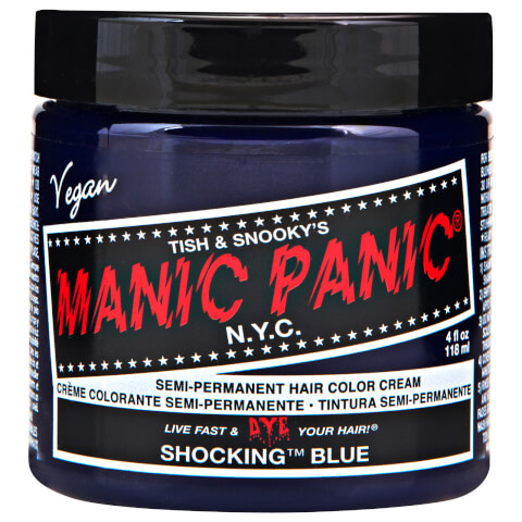 Manic Panic Semi-Permanent Hair Color Cream - Shocking Blue 118ml