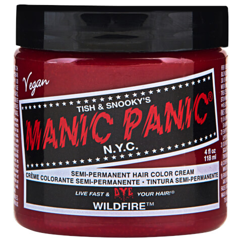 Manic Panic Semi-Permanent Hair Color Cream - Wildfire 118ml