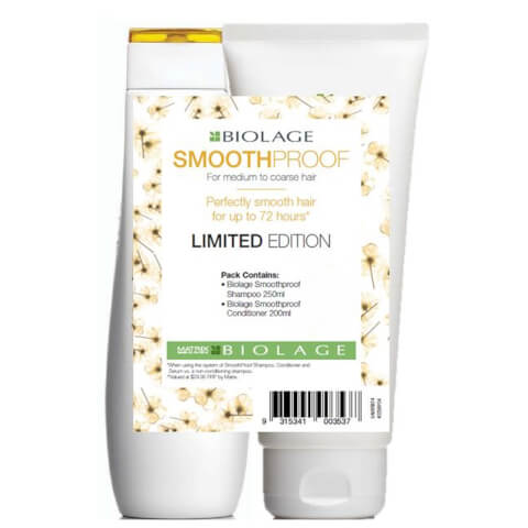 Matrix Biolage Smoothproof Shampoo And Conditioner Duo Pack