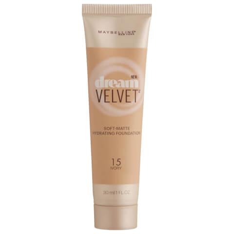 Maybelline Dream Velvet Soft-Matte Hydrating Foundation #15 Ivory 30ml