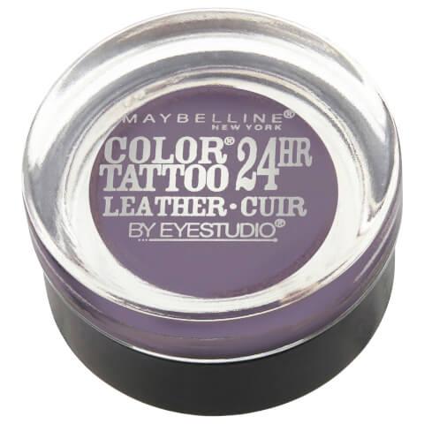 Maybelline Eyestudio Color Tattoo Leather 24hr #90 Vintage Plum 4g