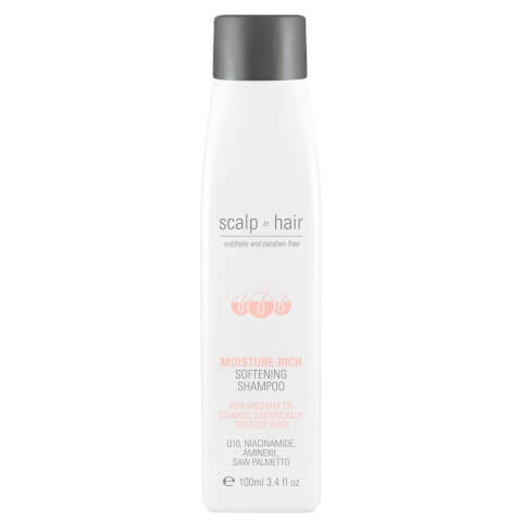 Nak Scalp To Hair Moisture-Rich Softening Shampoo Travel Size 100ml