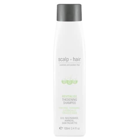 Nak Scalp To Hair Revitalise Thickening Shampoo Travel Size 100ml