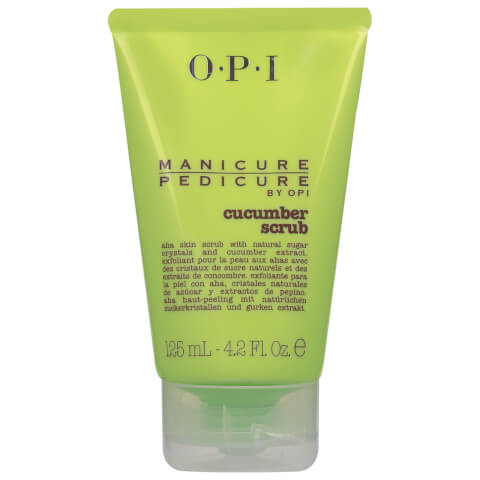 OPI Manicure Pedicure Cucumber Scrub 125ml