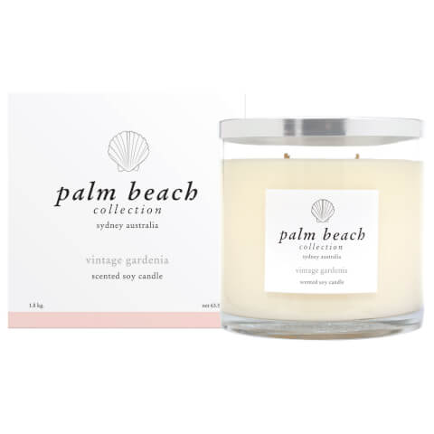 Palm Beach Collection Deluxe Candle Vintage Gardenia 1.8Kg