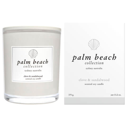 Palm Beach Collection Standard Candle Clove And Sandlewood 375g
