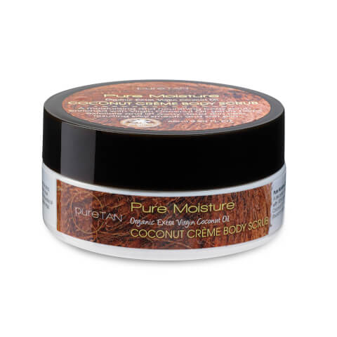 PureTan Pure Moisture Coconut Creme Body Scrub 65ml