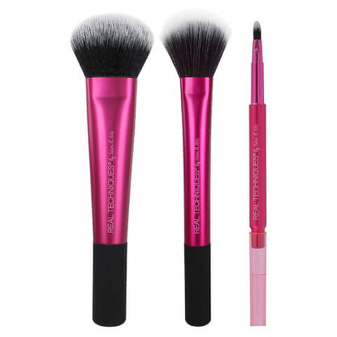 Real Techniques #1465 Cheek And Lip Brush Set