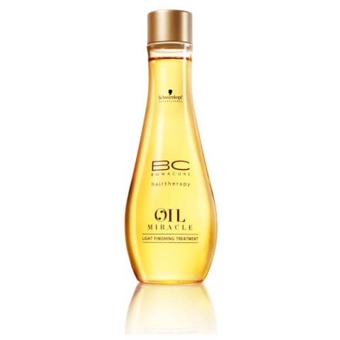 Schwarzkopf BC Hair Therapy Oil Miracle Light Finishing Treatment 100ml