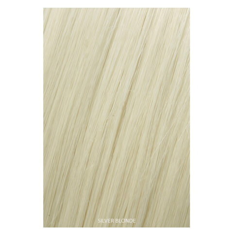 Showpony Professional Heat Resistant Synthetic Ponytail Wrap Style 407 - Silver Blonde 18 Inches