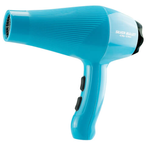 Silver Bullet City Chic Professional Hair Dryer - Aqua