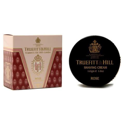 Truefitt & Hill Men's Shaving Cream Bowl Rose 190g