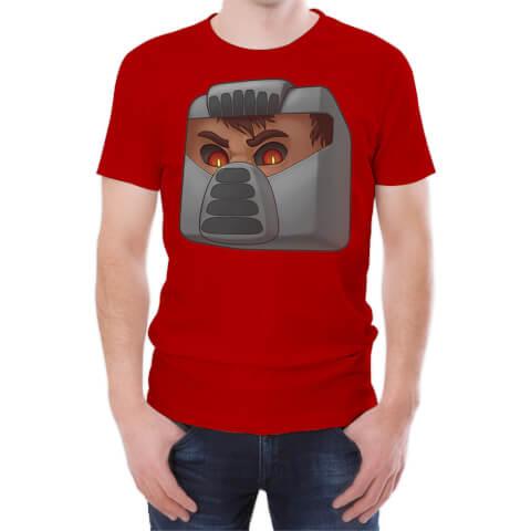 T-Shirt Homme Xisuma Evil X -Rouge