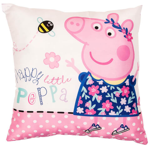 Peppa Pig Happy Cushion