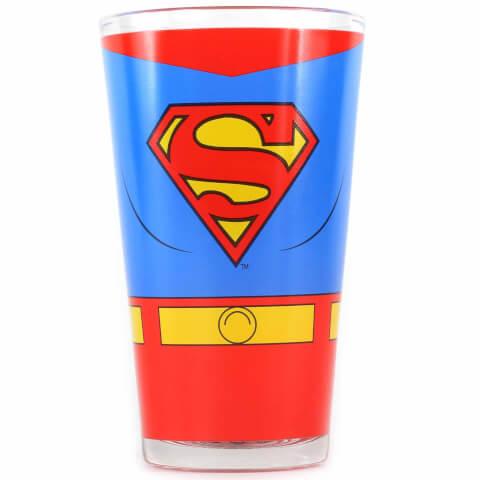 Grand Verre DC Comics Superman dans Boite Cadeau