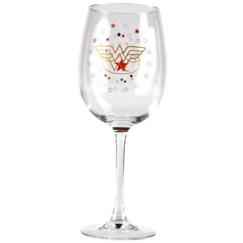 DC Comics Wonderwoman Wine Glass in Gift Box