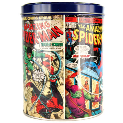 Marvel Spiderman Large Canister