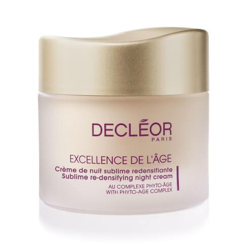 DECLÉOR Excellence De L'Age Re-densifying Night Cream (50ml)