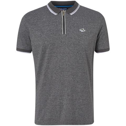 Le Shark Men's Holmdale Zip Polo Shirt - Ashpalt