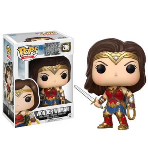 Figura Pop! Vinyl Wonder Woman - La Liga de la Justicia