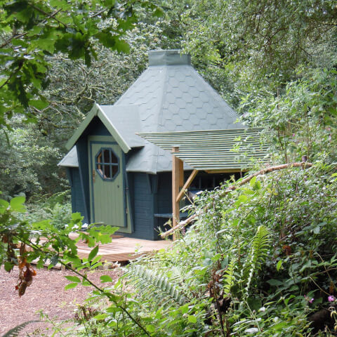 Two Night Hobbit Hut Break for Two in Cornwall