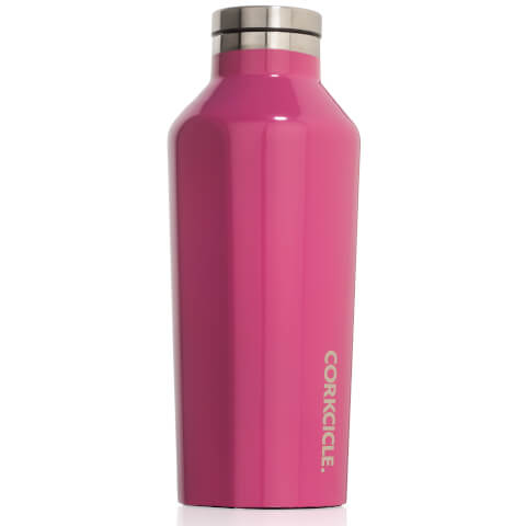 Bouteille Corkcicle Tripe Isolation 265 ml - Rose