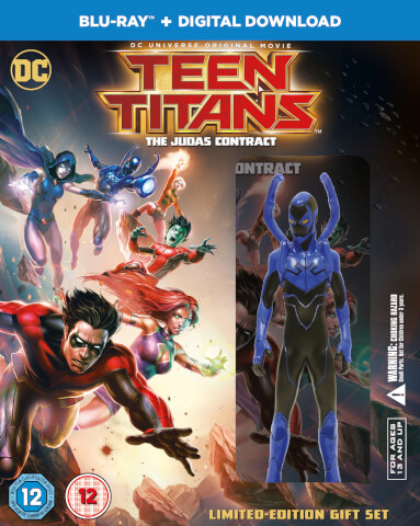 Teen Titans Judas Contract with Mini Figure