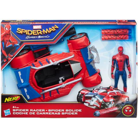 Figurines Marvel Spider-Man et Spider Racer