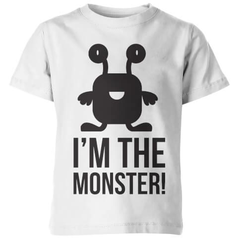 I'm the Monster! Kid's White T-Shirt