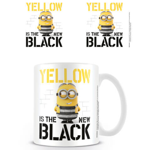 Despicable Me 3 Coffee Mug (Yellow is the New Black)
