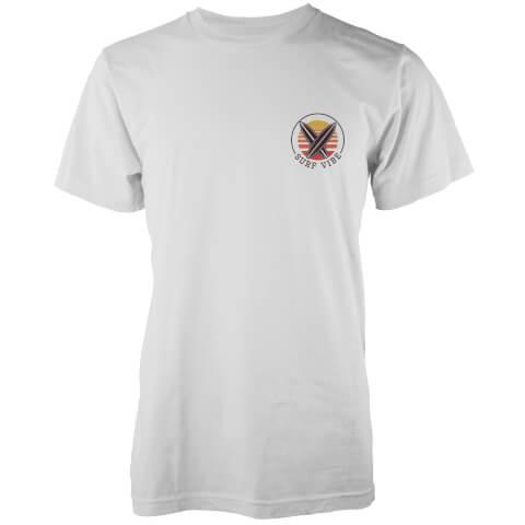T-Shirt Homme Surf Vibe Poche Imprimée Native Shore - Blanc