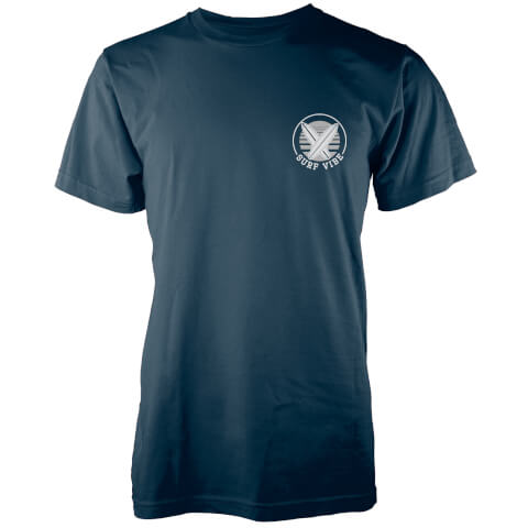 Native Shore Men's Surf Vibe Pocket Print T-Shirt - Navy
